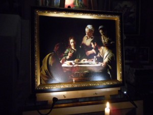 """The supper at Emmaus"""